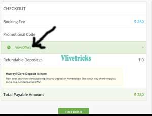 apply voucher code on zoomcar