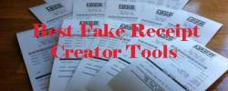 Best Fake Receipt Creator Tools 2018 for Gas, Hotel, Atm Etc