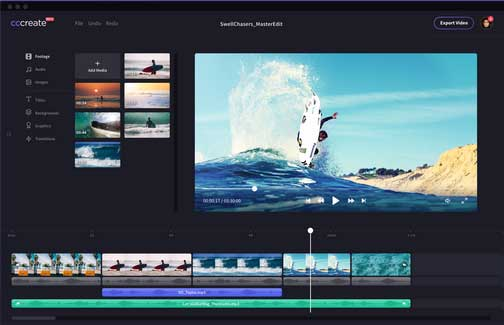 clipchamp online video-editor