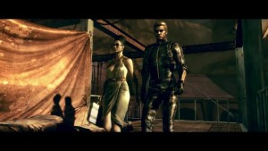 Albert Wesker and Excella Resident Evil 5