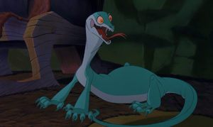 Joanna the Goanna, The Rescuers Down Under