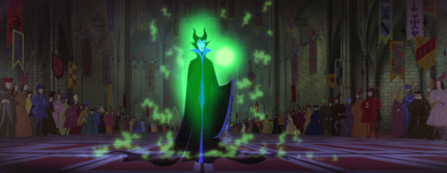 Sleeping Beauty - Maleficent - appears