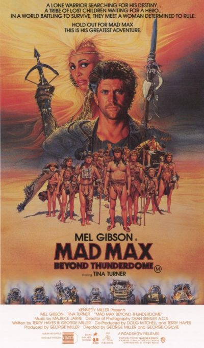 mad-max-beyond-thunderdome movie poster