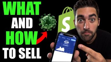 WHAT To Sell RIGHT NOW With Shopify Dropshipping (Current Situation) [Video]