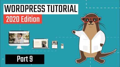 How to Install Avada WordPress Theme – Part 9 [Video]