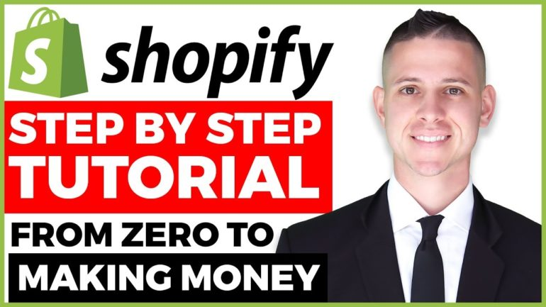 COMPLETE Shopify Tutorial For Beginners 2020 – How To Create A Profitable Shopify Store From Scratch [Video]