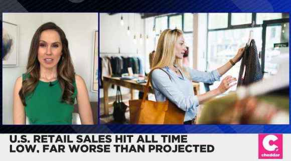 U.S. Retail Sales Hit All-Time Low, Far Worse Than Projected