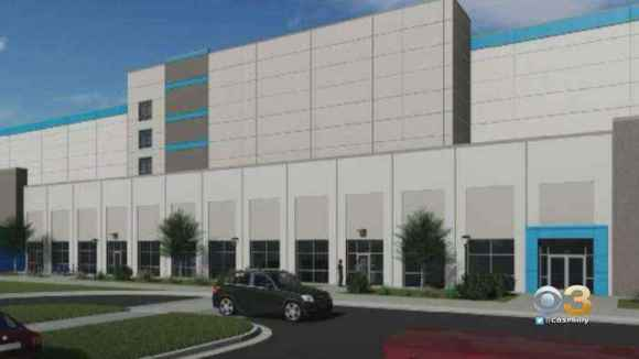 Amazon Releases Rendering Of New Fulfillment Center In Wilmington