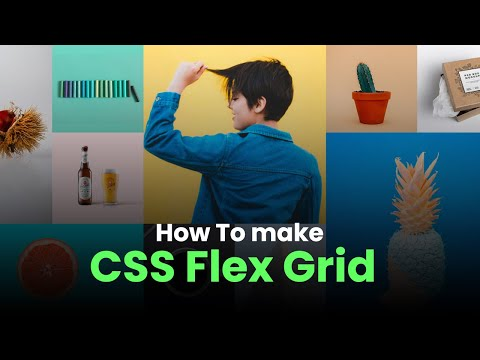 how to make Flexbox grid in HTML CSS [Video]