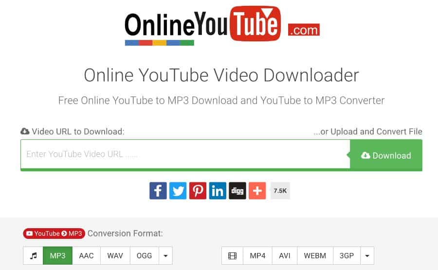 convert youtube video to mp4 online download free