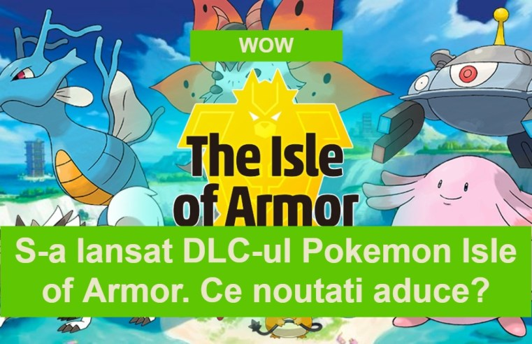 Pokemon Isle of Armor