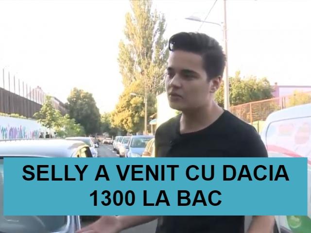 Selly a venit cu Dacia 1300 la BAC