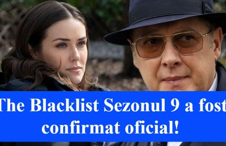 The Blacklist Sezonul 9