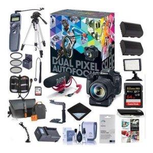 Canon 80D DSLR Video Creator Kit