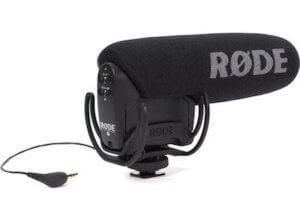 Video mic pro Camera Mic input