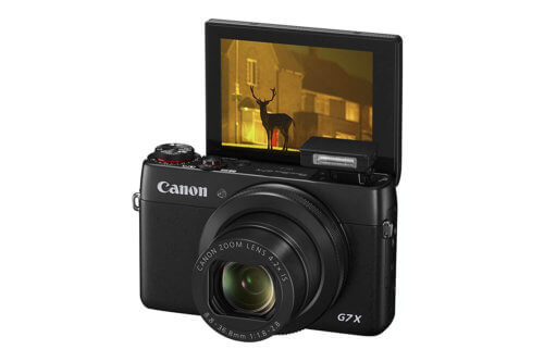 Point and Shoot Vlogging Camera