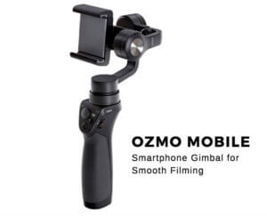 Handheld Stabilizer for iIPhone and Samsung phones