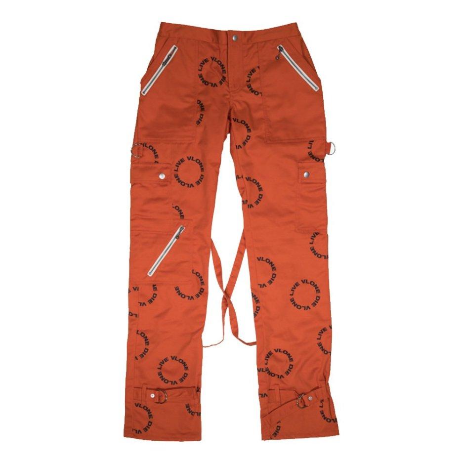 VLONE-Logo-Bondage-Pants-Orange