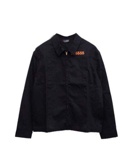 Vlone 55555 Jail Denim Black Jacket For Mens