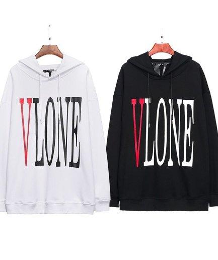 Vlone Staple Black & red Hoodie