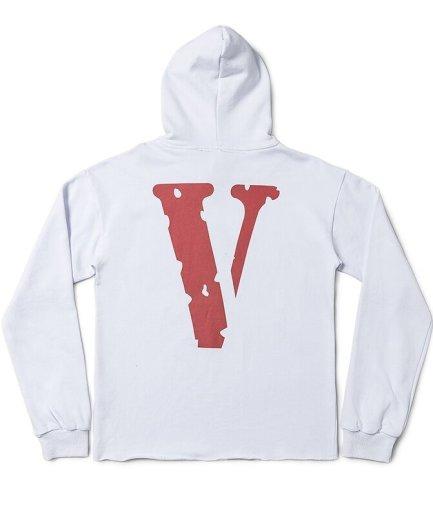 VLONE Staple Logo White Hoodie