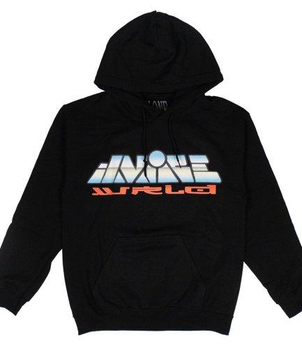 Vlone x JuiceWRLD Graphic Black Hoodie