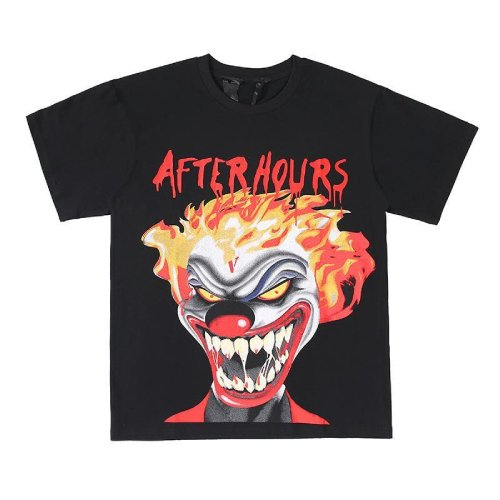Vlone X The Weeknd After Hours If I OD Clown Black Tee