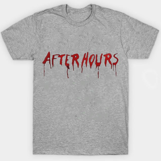 Vlone x The Weeknd After Hours Acid Drip Gray Tee