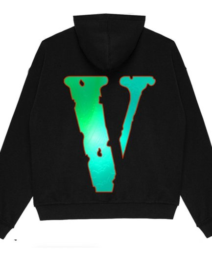 YoungBoy NBA x Vlone Sticks Black Hoodie