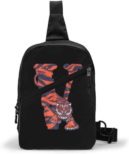 V-Lone Tiger Shape Sports Fitness black Backpack