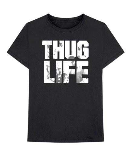 Vlone x Tupac Thug Life Album Art Black T-Shirt