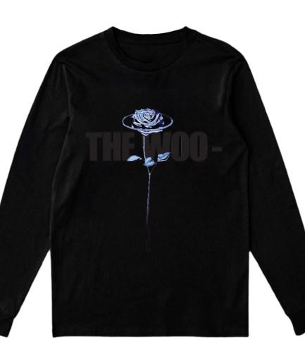 Vlone x Pop Smoke The Woo Sweatshirt-Black