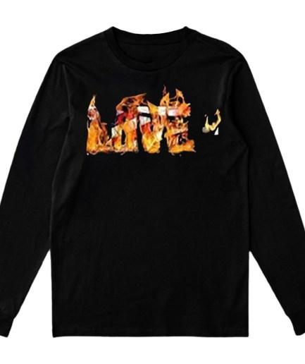 Vlone LOVE- Sweatshirt – Black