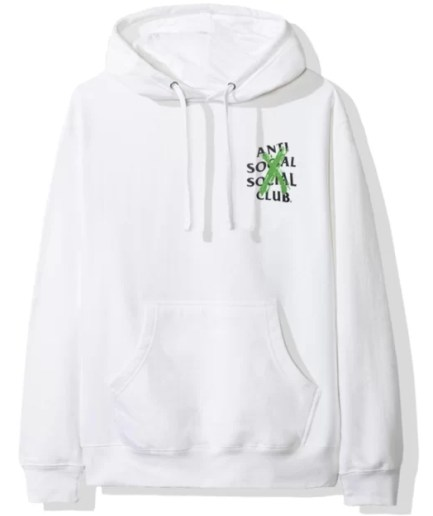 Anti Social Social Club Cancelled Remix Hoodie-Front