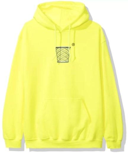 Anti Social Social Club Buckets Hoodie – Yellow