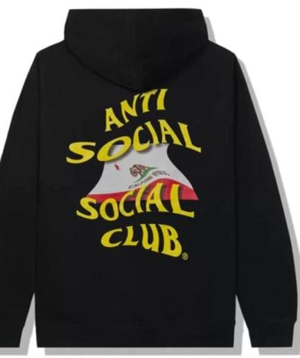 Anti Social Social Club California Hoodie-Back
