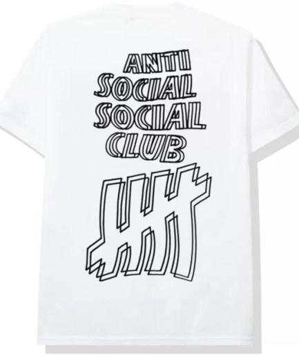 Anti Social Social Club x Undefeated Tee-Back