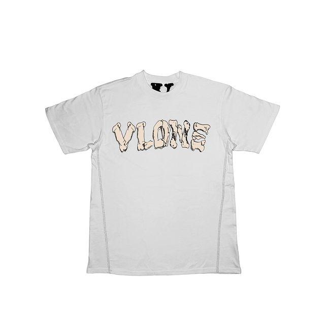 VLONE 2 the Bone Tee White