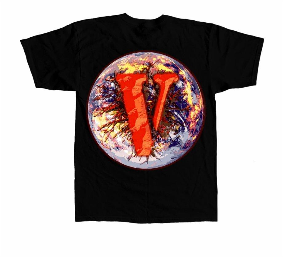 Vlone x Juice Wrld 999 World Tee Shirt