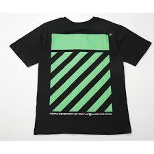 VLONE Stripe Black T-Shirt