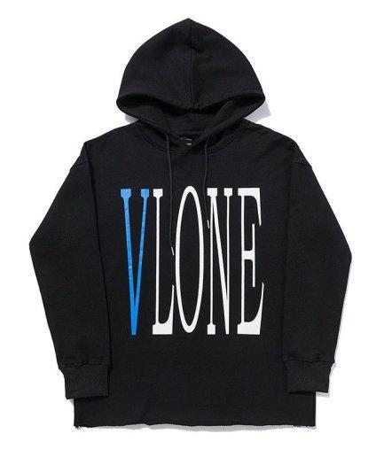 VLONE Staple Man Black Hoodies