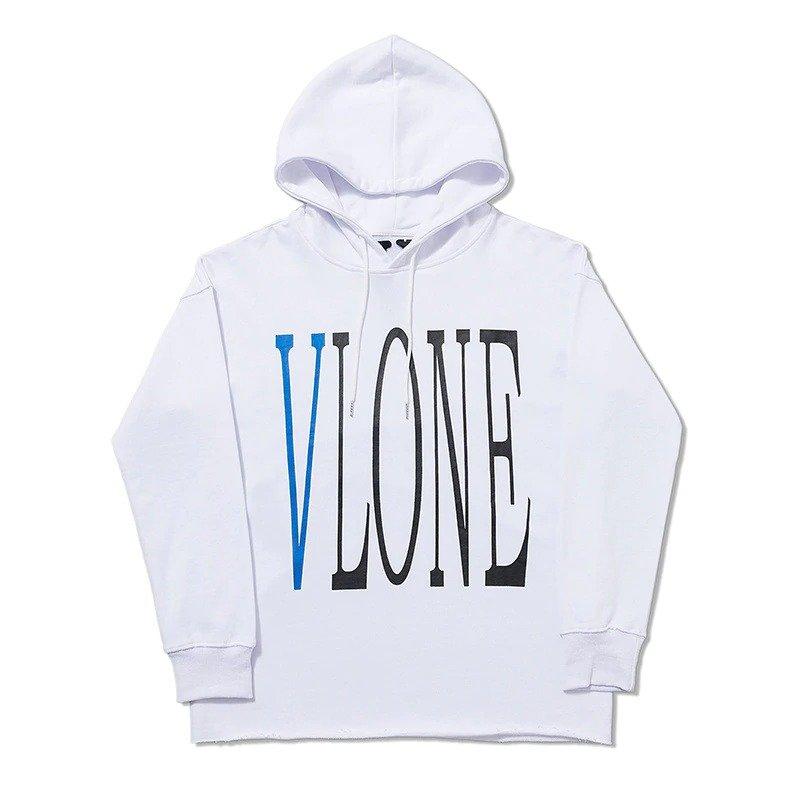 VLONE Man Hoodies Cotton Sweatshirts