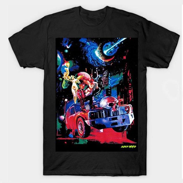 Juice Wrld x Vlone Cosmic Black T-Shirt
