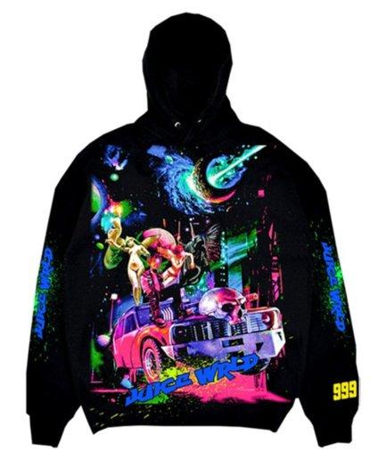 Juice Wrld x Vlone Cosmic Black hoodie