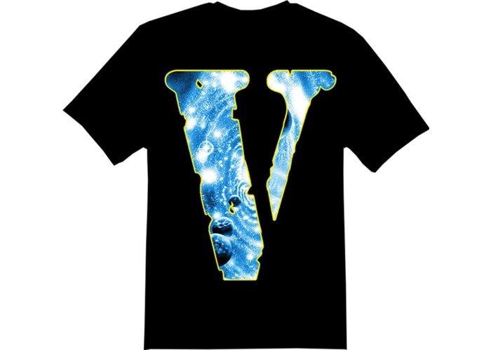 Vlone x Juice Wrld Cosmic Black T-Shirt