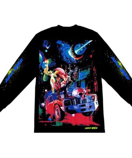 Juice WRLD X VLONE Cosmic Black Long Sleeves shirt