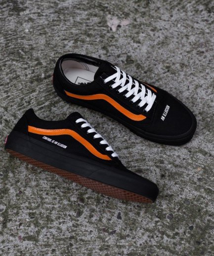 Vlone Black Shoes