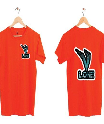 Vlone V Logo Red T-Shirt