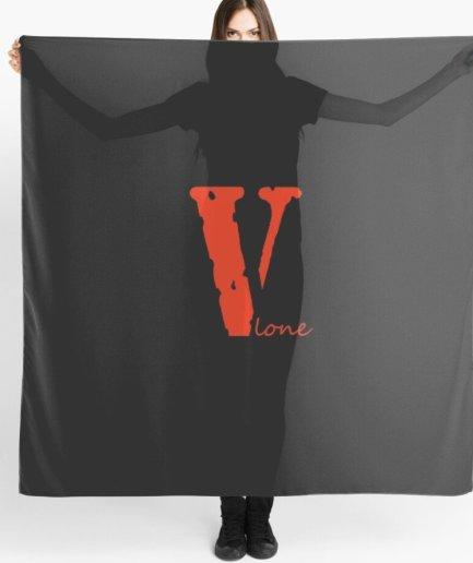 Vlone Classic Valentine black Scarf