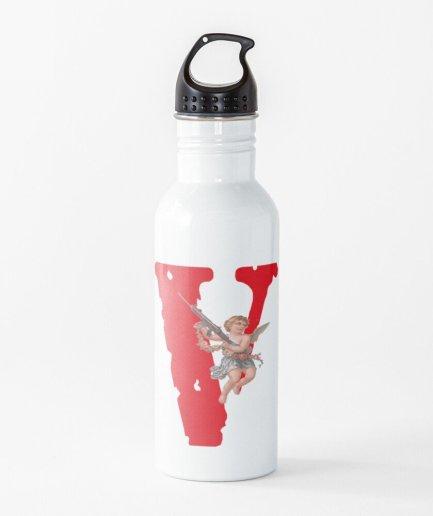 Vlone Logo Baby Angel Water Bottle